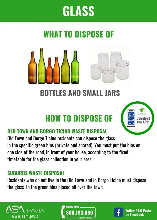 Separate waste collection: GLASS