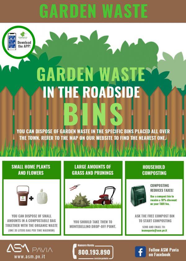 Separate waste collection: GARDEN WASTE